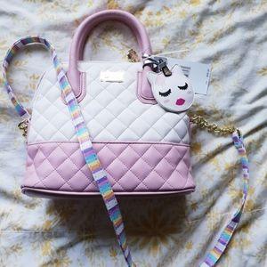 NWT Betsy Johnson Unicorn Bag